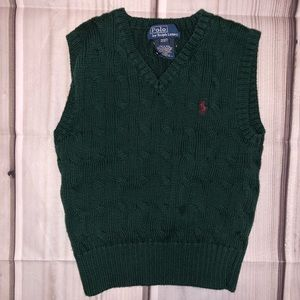 Polo Ralph Lauren Vest Sweater 2T Kids EUC